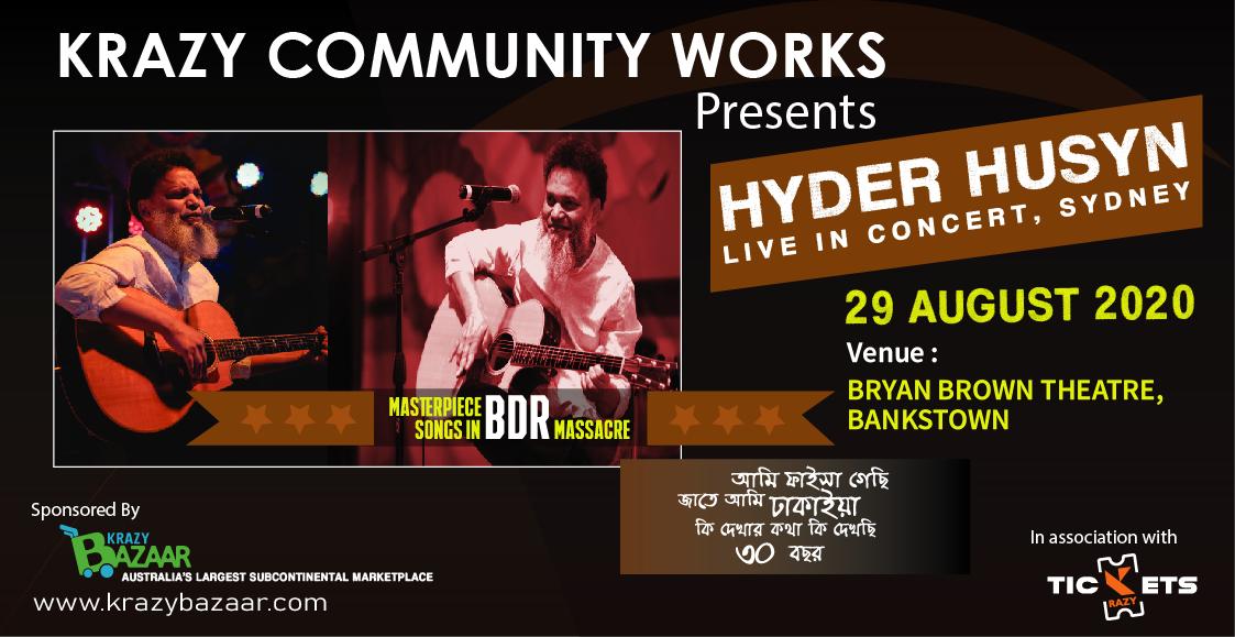 Hyder Husyn Live Concert in Sydney